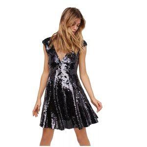 Free People Dance Til Dawn Sequin Dress